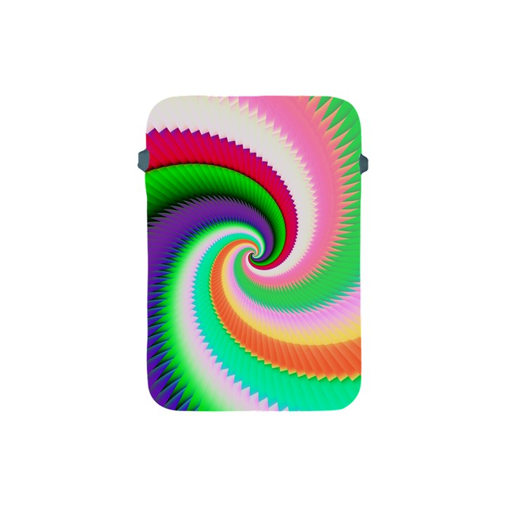 Colorful Spiral Dragon Scales   Apple iPad Mini Protective Soft Cases