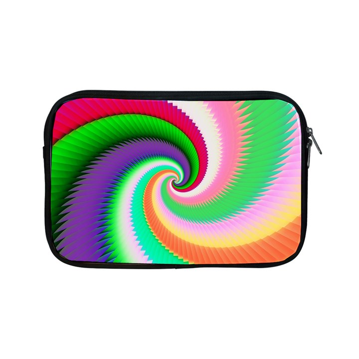 Colorful Spiral Dragon Scales   Apple iPad Mini Zipper Cases