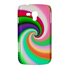 Colorful Spiral Dragon Scales   Samsung Galaxy Duos I8262 Hardshell Case