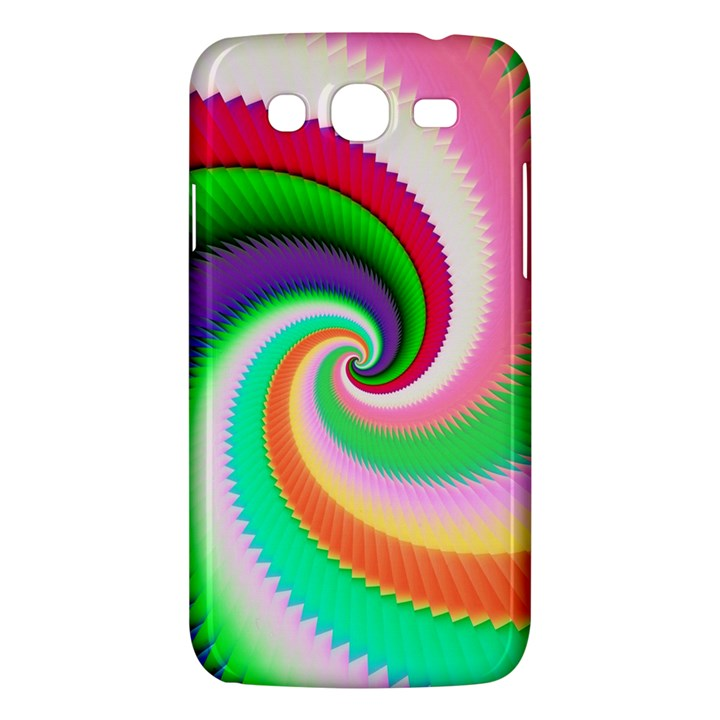 Colorful Spiral Dragon Scales   Samsung Galaxy Mega 5.8 I9152 Hardshell Case