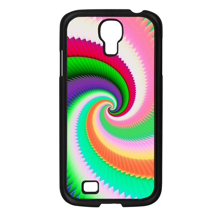 Colorful Spiral Dragon Scales   Samsung Galaxy S4 I9500/ I9505 Case (Black)