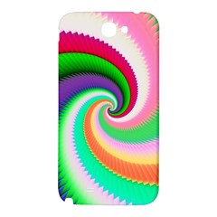 Colorful Spiral Dragon Scales   Samsung Note 2 N7100 Hardshell Back Case