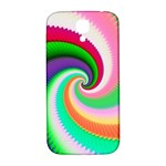 Colorful Spiral Dragon Scales   Samsung Galaxy S4 I9500/I9505  Hardshell Back Case Front