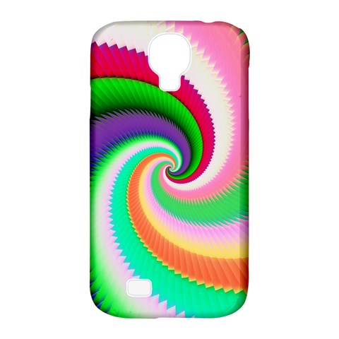 Colorful Spiral Dragon Scales   Samsung Galaxy S4 Classic Hardshell Case (PC+Silicone)