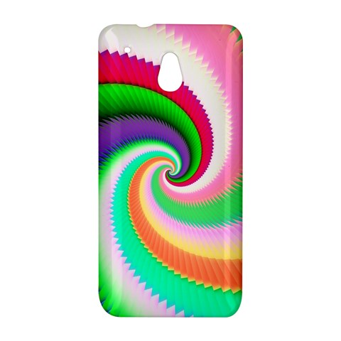 Colorful Spiral Dragon Scales   HTC One Mini (601e) M4 Hardshell Case