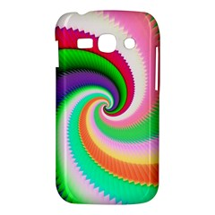 Colorful Spiral Dragon Scales   Samsung Galaxy Ace 3 S7272 Hardshell Case