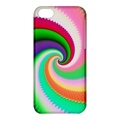 Colorful Spiral Dragon Scales   Apple iPhone 5C Hardshell Case