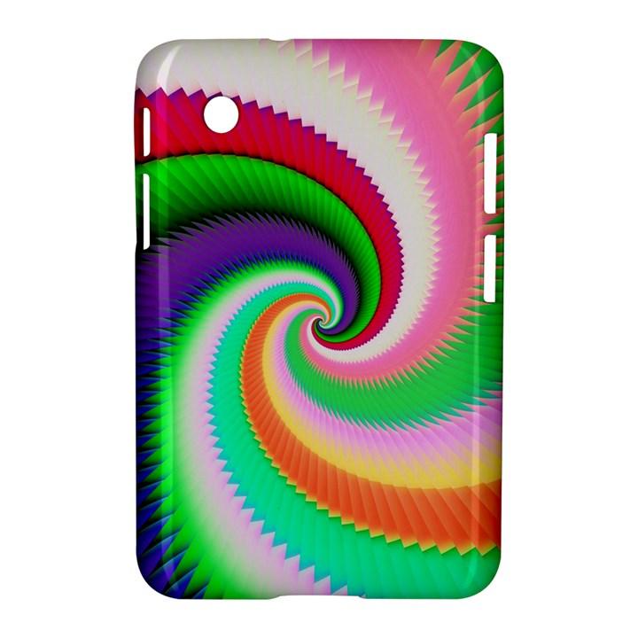 Colorful Spiral Dragon Scales   Samsung Galaxy Tab 2 (7 ) P3100 Hardshell Case