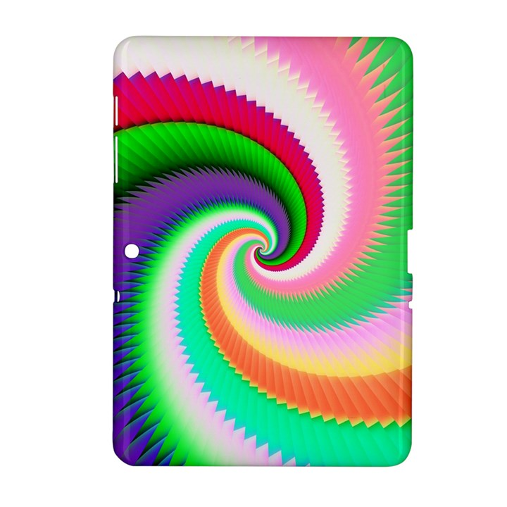Colorful Spiral Dragon Scales   Samsung Galaxy Tab 2 (10.1 ) P5100 Hardshell Case