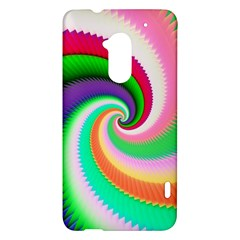 Colorful Spiral Dragon Scales   HTC One Max (T6) Hardshell Case
