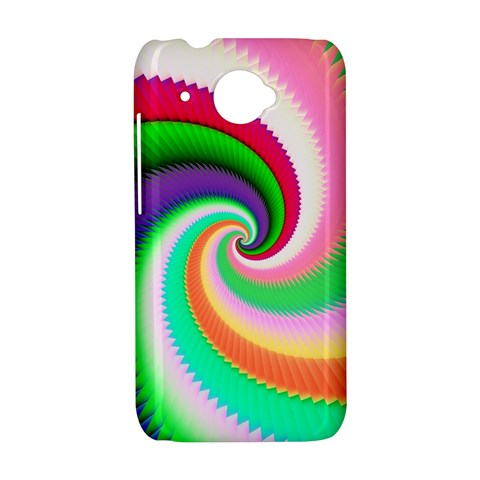 Colorful Spiral Dragon Scales   HTC Desire 601 Hardshell Case
