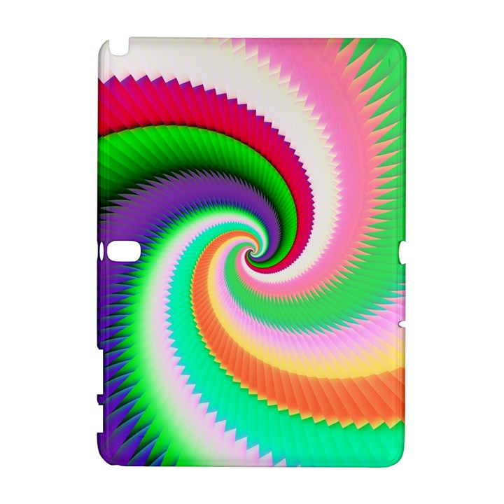 Colorful Spiral Dragon Scales   Samsung Galaxy Note 10.1 (P600) Hardshell Case