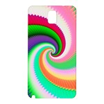 Colorful Spiral Dragon Scales   Samsung Galaxy Note 3 N9005 Hardshell Back Case Front