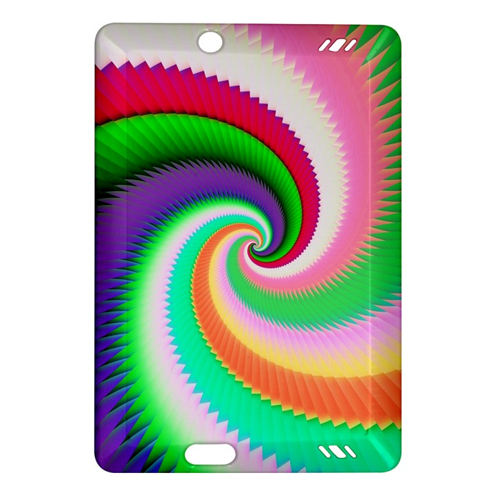 Colorful Spiral Dragon Scales   Amazon Kindle Fire HD (2013) Hardshell Case