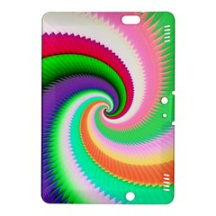 Colorful Spiral Dragon Scales   Kindle Fire Hdx 8 9  Hardshell Case