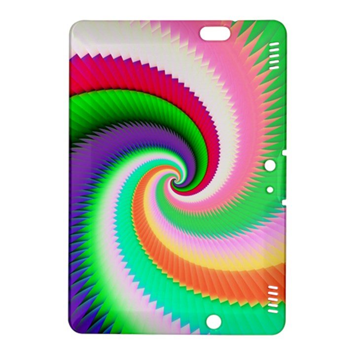 Colorful Spiral Dragon Scales   Kindle Fire HDX 8.9  Hardshell Case