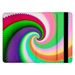 Colorful Spiral Dragon Scales   Samsung Galaxy Tab Pro 12.2  Flip Case Front