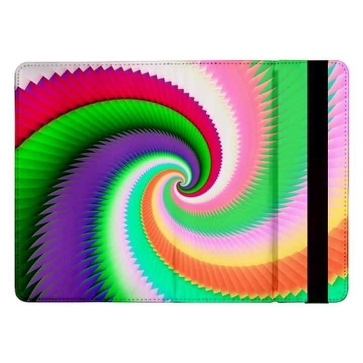 Colorful Spiral Dragon Scales   Samsung Galaxy Tab Pro 12.2  Flip Case