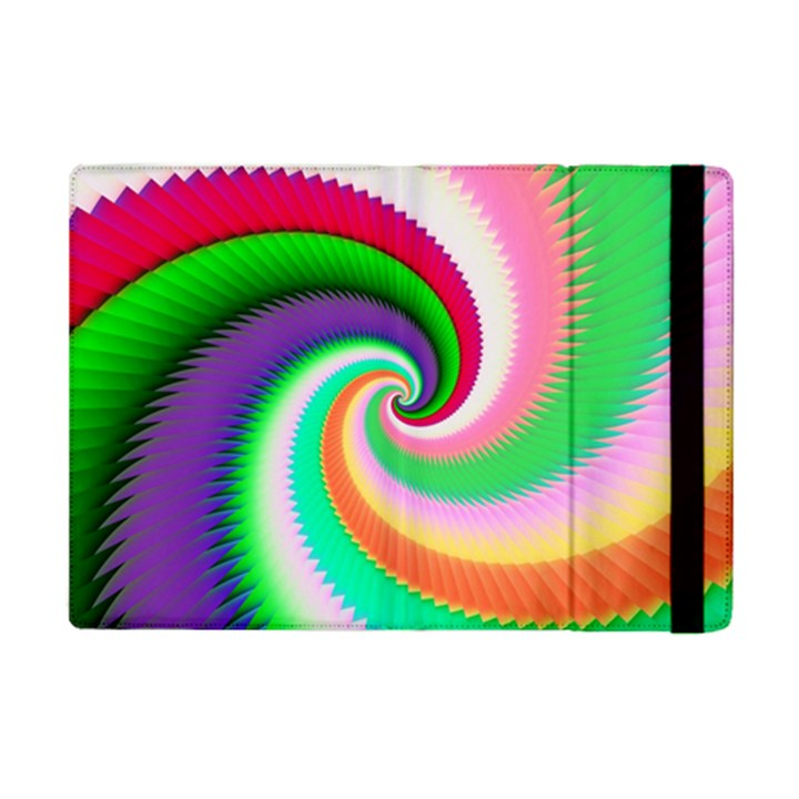 Colorful Spiral Dragon Scales   iPad Mini 2 Flip Cases