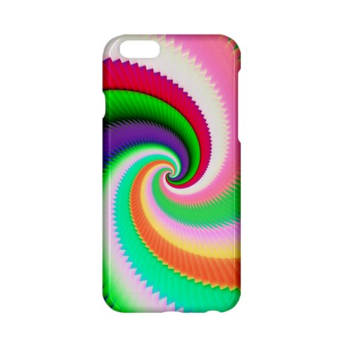 Colorful Spiral Dragon Scales   Apple iPhone 6/6S Hardshell Case