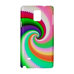 Colorful Spiral Dragon Scales   Samsung Galaxy Note 4 Hardshell Case