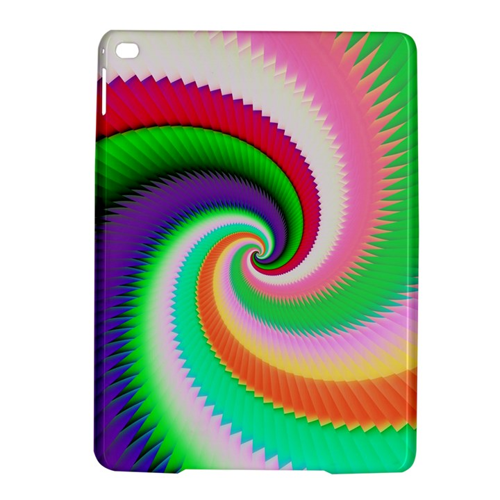 Colorful Spiral Dragon Scales   iPad Air 2 Hardshell Cases