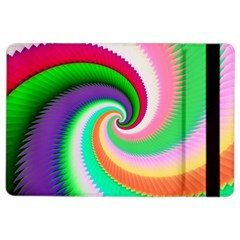 Colorful Spiral Dragon Scales   iPad Air 2 Flip