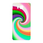 Colorful Spiral Dragon Scales   Samsung Galaxy Alpha Hardshell Back Case Front