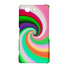 Colorful Spiral Dragon Scales   Sony Xperia Z3 Compact