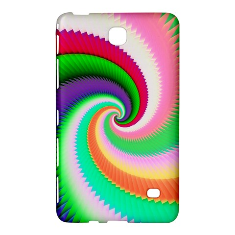 Colorful Spiral Dragon Scales   Samsung Galaxy Tab 4 (8 ) Hardshell Case
