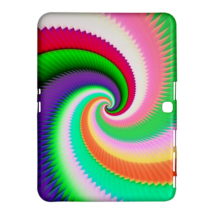 Colorful Spiral Dragon Scales   Samsung Galaxy Tab 4 (10.1 ) Hardshell Case