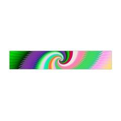 Colorful Spiral Dragon Scales   Flano Scarf (Mini)