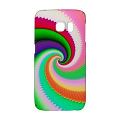 Colorful Spiral Dragon Scales   Galaxy S6 Edge