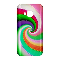 Colorful Spiral Dragon Scales   HTC One M9 Hardshell Case