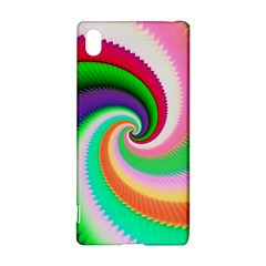 Colorful Spiral Dragon Scales   Sony Xperia Z3+