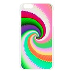 Colorful Spiral Dragon Scales   Apple Seamless iPhone 6 Plus/6S Plus Case (Transparent) Front