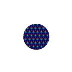 Honeycomb Fractal Art 1  Mini Magnets