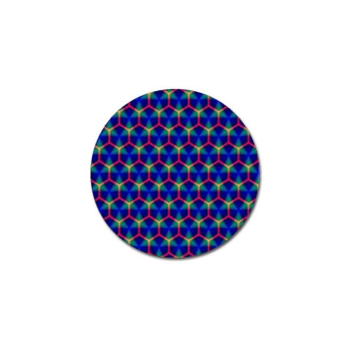 Honeycomb Fractal Art Golf Ball Marker (4 pack)