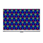 Honeycomb Fractal Art Business Card Holders Front