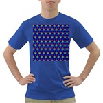 Honeycomb Fractal Art Dark T-Shirt Front