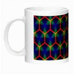 Honeycomb Fractal Art Night Luminous Mugs