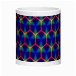 Honeycomb Fractal Art Morph Mugs Center