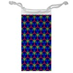 Honeycomb Fractal Art Jewelry Bags Front