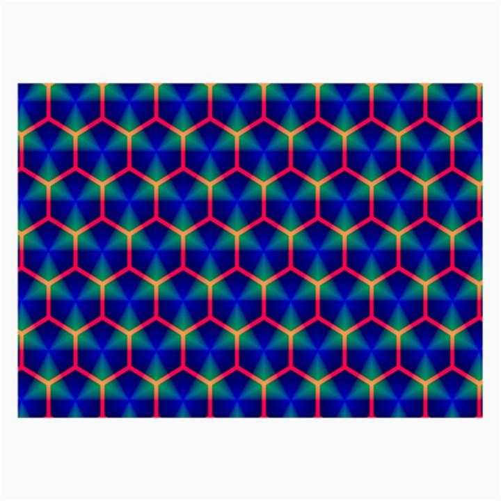 Honeycomb Fractal Art Collage Prints
