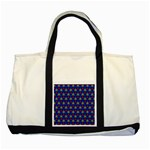 Honeycomb Fractal Art Two Tone Tote Bag Front