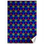 Honeycomb Fractal Art Canvas 12  x 18   18 x12 Canvas - 1