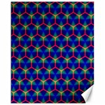 Honeycomb Fractal Art Canvas 16  x 20   20 x16 Canvas - 1