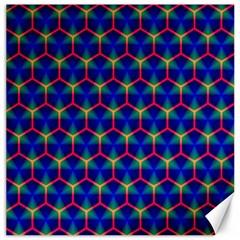 Honeycomb Fractal Art Canvas 20  x 20