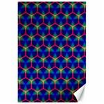 Honeycomb Fractal Art Canvas 20  x 30   30 x20 Canvas - 1
