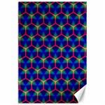 Honeycomb Fractal Art Canvas 24  x 36  36 x24 Canvas - 1